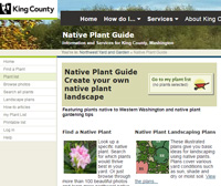 King County Native Plants Website