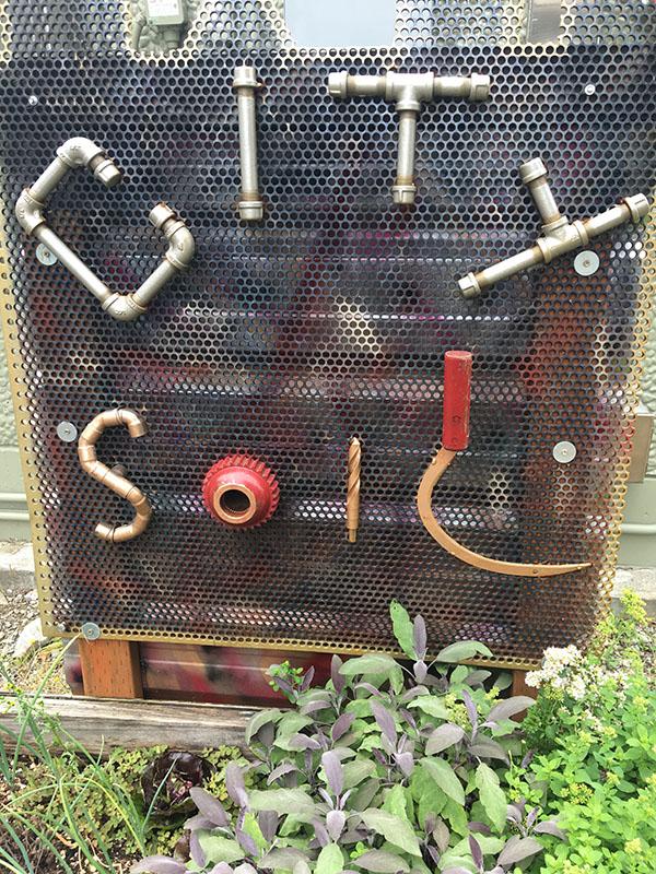 Sign at City Soil Farm