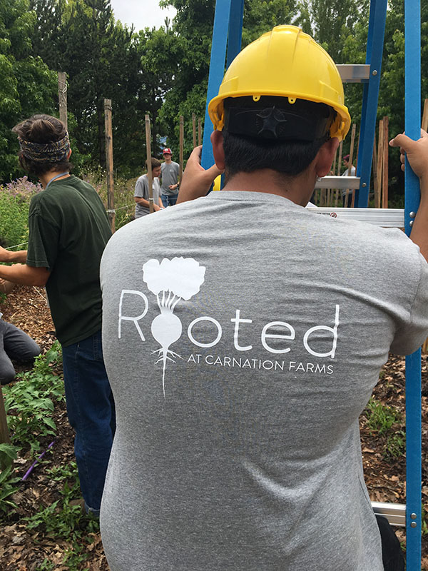 Rooted Teens from Carnation Farms at City Soil Farm