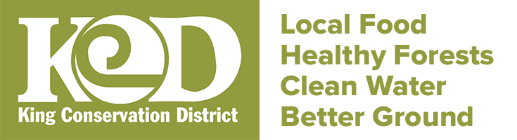 KCD Logo - King Conservation District - Local Food - Healthy Forests - Clean Water - Better Ground
