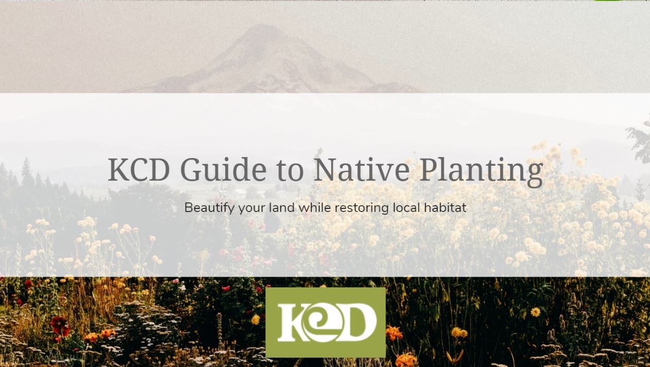 KCD Interactive Guide to Native Planting