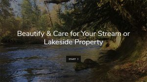 Beautify and Care for Your Streamside Property Online