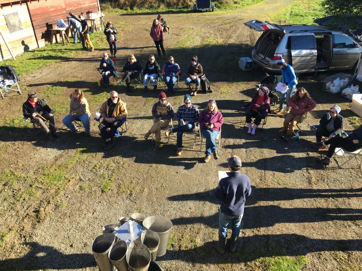 KCD Thanksgiving Poultry Processing Field Day Attendees
